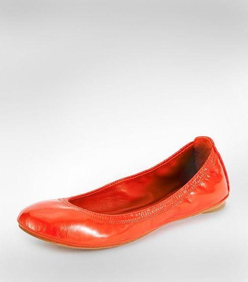 Patent Eddie Ballet Flat