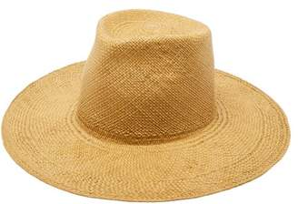 Reinhard Plank Hats - Tall Straw Panama Hat - Womens - Brown