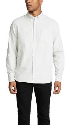 Saturdays NYC Crosby Viyella Long Sleeve Shirt