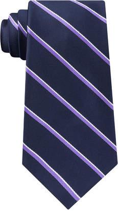 Tommy Hilfiger Men's Th Flex Two Tone Stripe Silk Tie