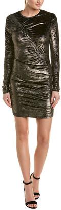 Ronny Kobo Metallic Sheath Dress