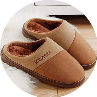 e4e7188b5605 Don t mention the past Home Slippers for Men Soft Indoor Shoes 2019 Hot  Flock