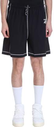 adidas By Alexander Wang by Alexander Wang Black Technical Fabric Shorts