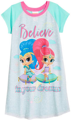 Nickelodeon's Shimmer and Shine Nightgown, Little Girls & Big Girls