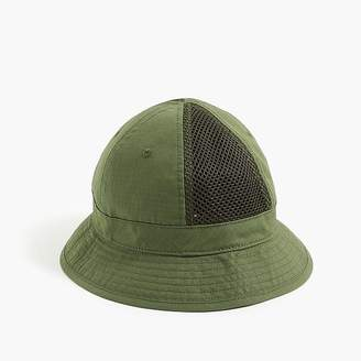 J.Crew Mesh paneled bucket hat