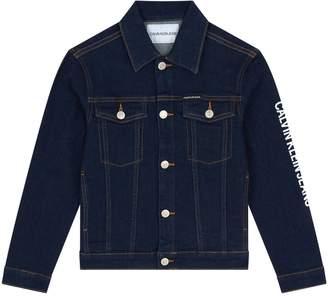 Calvin Klein Logo Denim Jacket