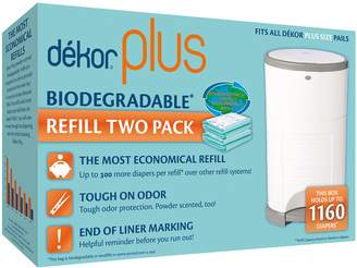 Dekor Plus Biodegradable Refill Two Count