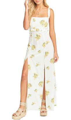 Show Me Your Mumu Bristol Floral Side Slit Maxi Dress