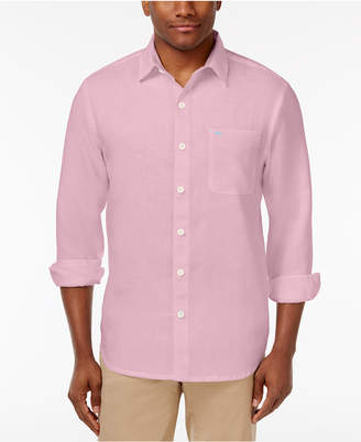 Tommy Bahama Men's Sea Glass Breezer Linen Shirt, Created for Macy's