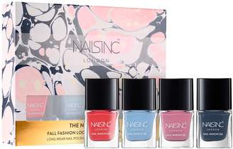 Nails Inc The Nail Wardrobe Collection: Mini Trend Color Kit