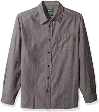 Woolrich Men's Stone Rapids Organic Cotton Flannel Modern Fit