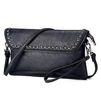 Crossbody Bag & Wristlet Clutch Purse