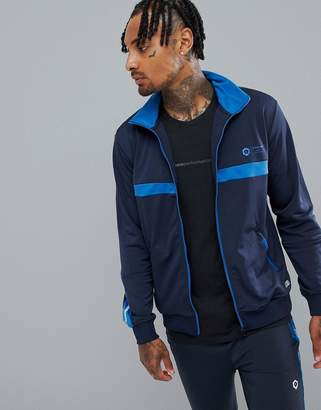 Jack and Jones Core Performance Track Top With Chest And Sleeve Detail