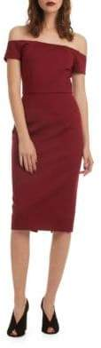 Trina Turk Back Slit Dress