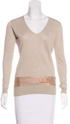 Fabiana Filippi Long Sleeve Knit Top