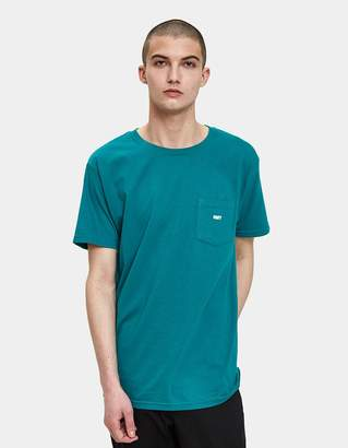 Obey Jumbled Tee in Teal