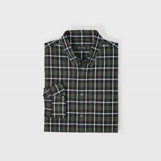 Club Monaco Slim Plaid Shirt
