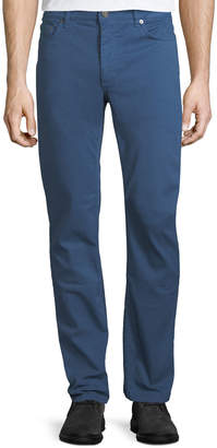 Salvatore Ferragamo Men's Garment-Dyed 5-Pocket Denim Pants