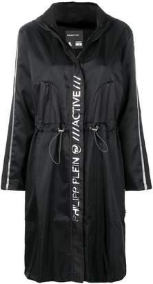 Philipp Plein long windbreaker jacket