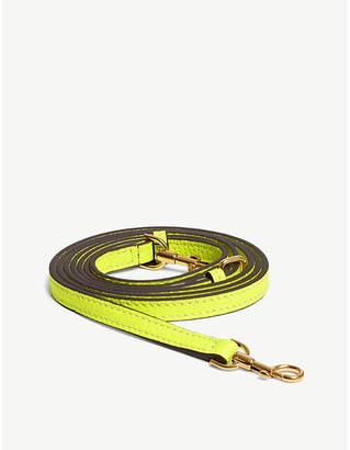 Anya Hindmarch Leather cross-body phone strap