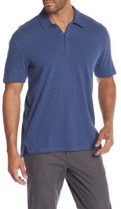 Vince Vented Knit Polo Shirt