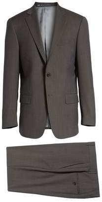 Hart Schaffner Marx New York Classic Fit Stripe Wool Suit