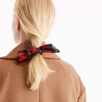 J.Crew Tartan hair tie