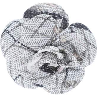 Chanel Camelia Grey Other Pins & brooches