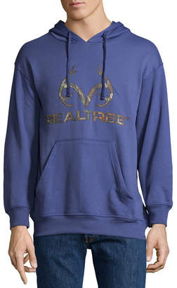 Realtree Performance Chest Logo Mens Long Sleeve Hoodie