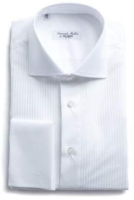 Todd Snyder Emanuele Maffeis + Maffeis Pleated Formal Tuxedo Shirt