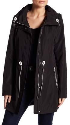 Jessica Simpson Polybonded Jacket with Hidden Hood $150 thestylecure.com