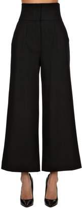 Dolce & Gabbana High Waisted Stretch Natte Pants