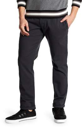 Parke & Ronen Solid Stretch Moleskin Knit Trousers