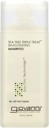 Giovanni Tea Tree Triple Treat Shampoo 60ml