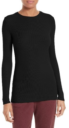 Women's Atm Anthony Thomas Melillo Rib Jersey Tee $130 thestylecure.com