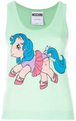 Moschino My Little Pony print tank top