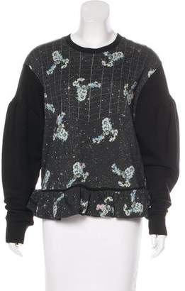 Preen by Thornton Bregazzi Printed Knit Sweatshirt