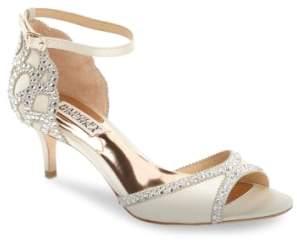 Badgley Mischka 'Gillian' Crystal Embellished d'Orsay Sandal