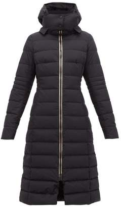 Herno Quilted Gore Tex Down Filled Coat - Womens - Black