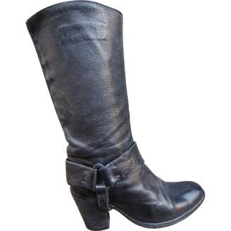 Sartore Leather biker boots