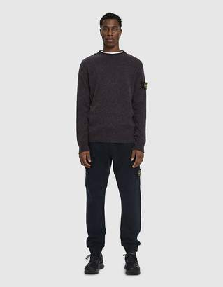 Stone Island Knit Crewneck Sweater in Ink