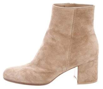 Gianvito Rossi Round-Toe Ankle Boots