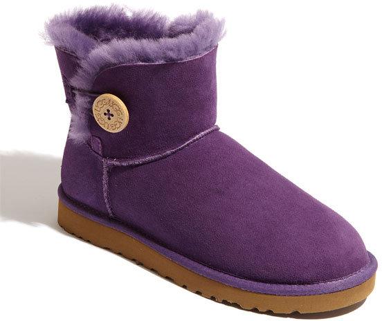 UGG 'Mini Bailey Button' Boot
