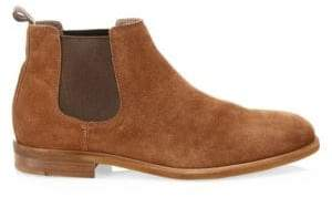 Brunello Cucinelli Suede Chelsea Ankle Boots