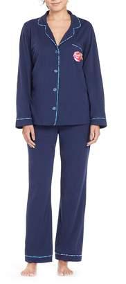 BedHead Embroidered Pocket Pajamas