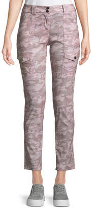 Anatomie Kate Slim Rose Camo Cargo Pants