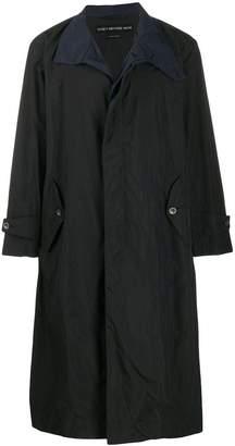 Issey Miyake oversized trench coat