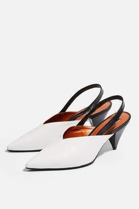 Topshop JUMBO Slingback Court Shoes