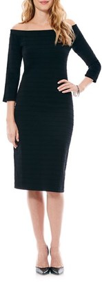Women's Laundry By Shelli Segal Bandage Knit Sheath Dress $168 thestylecure.com