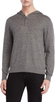 Weatherproof Vintage Hooded Henley Sweater